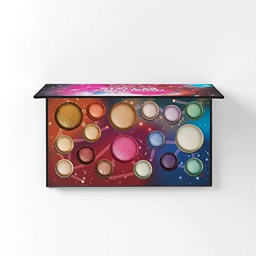 Stellar Collision – 17 Farben Baked Lidschatten & Highlighter Palette