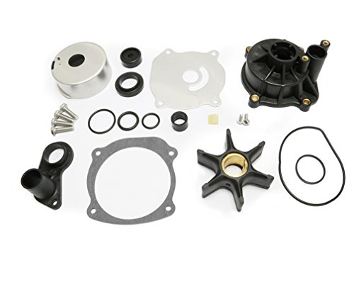 Sale!! Full Power Plus Water Pump Repair Kit Replacement with Housing for Johnson Evinrude V4 V6 V8 ...