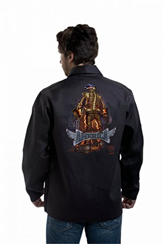 "Tillman 9061-XL Extra-Large ""Backbone of America"" FR Welding Jacket"