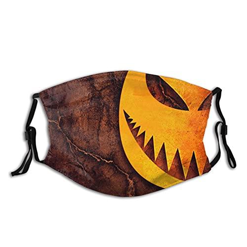 Halloween Funny Reusable Cloth Balaclava Face-Masks Washable Face Cover for Women Men