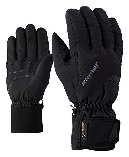 Ziener Erwachsene GUFFERT GTX Glove Alpine Ski-Handschuhe/Wintersport | Wasserdicht, Atmungsaktiv, Black, 9,5