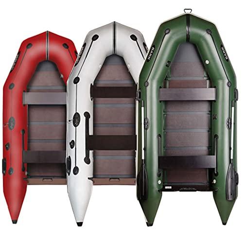 BARK Profi Schlauchboot für Motor BT-310 (3,1m) Schwerlast Paddelboot Angelboot Freizeitboot Motorboot Elektromotor fünfschichtig PVC (3.1m BT-310, Grün)
