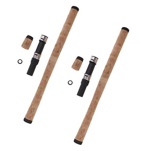 Harilla 2 Set Angelrutengriff Composite Cork Grip DIY Rutenbau & Rollenhalter