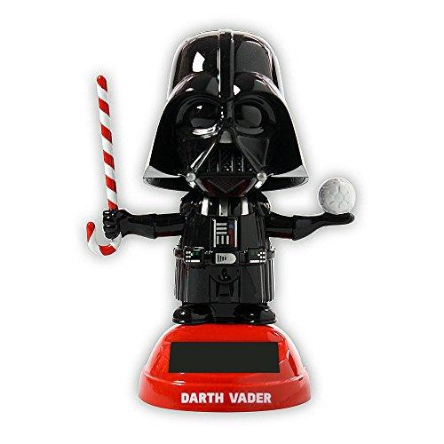 Disney Star Wars Darth Vader Solar Power Bobble Head image