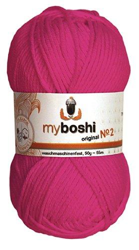50g myboshi original No.2 Wolle Fb. 262 magenta