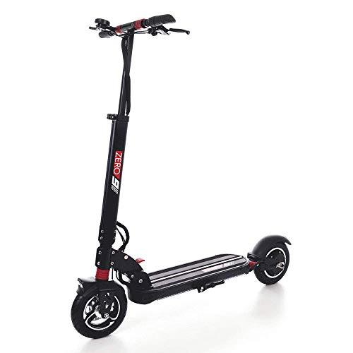 Good - Zero 9 - Patinete eléctrico (litio - ión 48 V 13 Ah, velocidad: 40 km/h, rango: 40 km, motor: 600 W, ruedas neumáticas de 22,8 cm, color negro