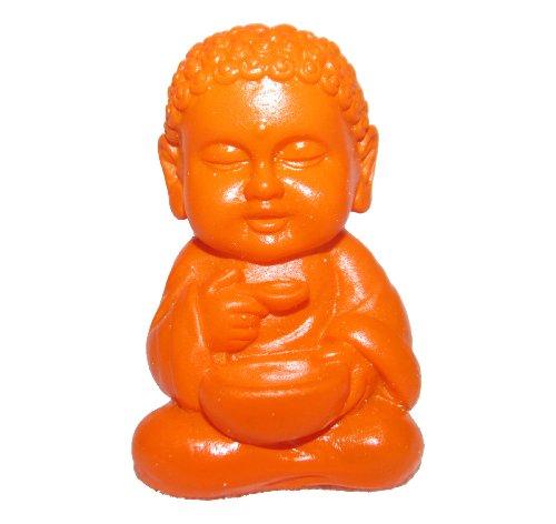 Pocket Buddha Mini Orange Health Figure Figurine