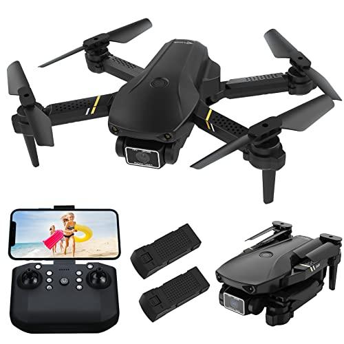 DOMIBOT 693 Mini Drone con Telecamera Pieghevole 1080P Controllo App WiFi FPV Decollo con Un Clic...