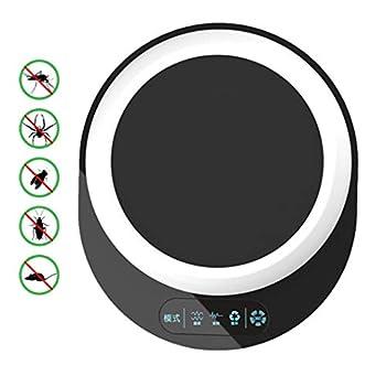 Ultrasonique Antiparasitaire Répulsif Insectifuge Électronique Portable Dispositif De Sécurité Pour Animaux De Compagnie Peut Repousser Les Puces Moustiques Souris Insectes Fourmis Araignées Souris