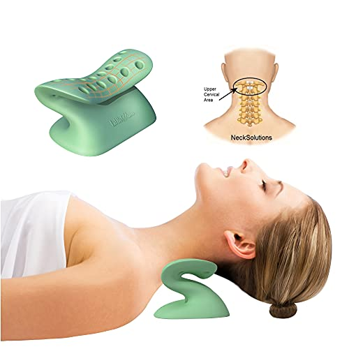 LittleMum Chiropractic Cervical Traction Stretcher for Cervicogenic Headaches Relief, Forward Head...