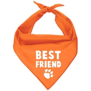 Parisian Pet Dog Bandana – Washable, Adjustable Triangle Tie-On Pet Scarf Bib in Cute Prints for Boy/Girl Dogs and Cats | Size – Small and Medium | Funny Dog Accessories