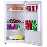 Amica Vollraumkühlschrank nur 45cm breit 61L Bürokühlschrank Weiß VKS 351 116 W
