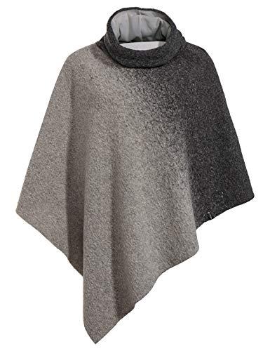 VAUDE Västeras Poncho Polaire Femme, Offwhite, FR Fabricant : Taille Unique