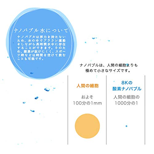 『8K PREMIUM(ハチケイ プレミアム) 酸素ナノバブル水 24本入』の4枚目の画像