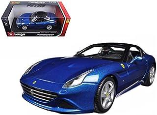 Ferrari California T (closed top) Blue 1/18 by Bburago 16003