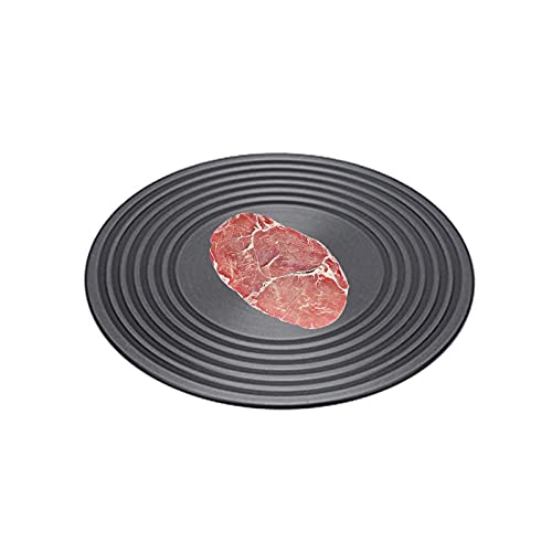 Diffusore di calore per fornello a gas, vassoio di scongelamento rapido, vassoio di scongelamento rapido Piastra di scongelamento rapido per alimenti a base di carne congelata