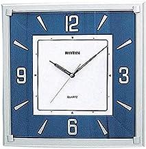 Rhythm CMG833NR04 Square Silky Silent Blue Wall Clock