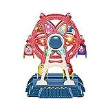 Juego de bloques de construcción para niños, ladrillos de construcción, ideal para regalo de cumpleaños, juguetes de construcción, 20,5 x 27 cm, rueda de ferris