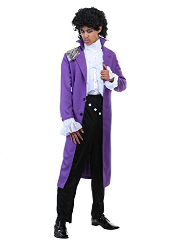 * Best Rated * Purple Rock Legend Costume for Adults, Best rated by customers - XS, M, L
