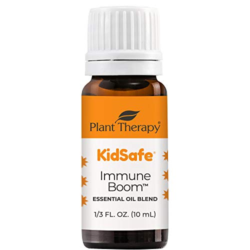 Plant Therapy Immune Boom KidSafe Essential Oil Blend 10 mL (1/3 oz) 100% Pure, Undiluted, Therapeutic Grade