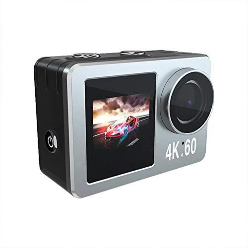 Noblik CáMara de AccióN de Contacto WiFi de 2.0in 4K 20MP Ultra HD con CáMara SubacuáTica Impermeable de 10M VideocáMara SubacuáTica con Zoom 4X