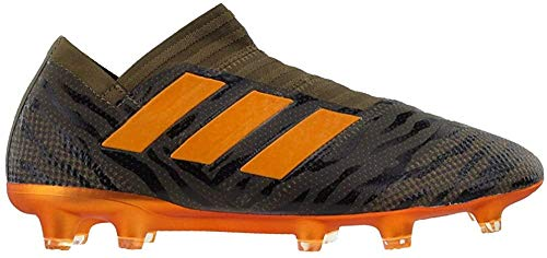 adidas Mens Nemeziz 17+ 360 Agility Firm Ground Soccer Casual Cleats, Green, 6.5
