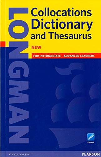 Longman Collocations Dictionary and Thesaurus with online access code paper