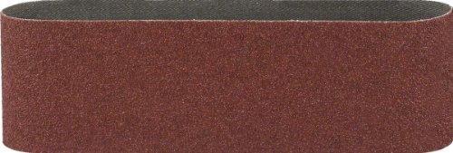 Bosch 2609256216 Set de 3 bandes abrasives pour Ponceuse à bande 75 x 533 mm Grain 40