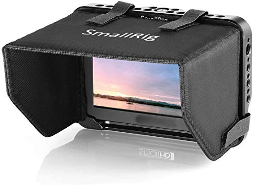 SMALLRIG Monitor Cage für mit Sunhood und Cable Clamp für SmallHD Focus 5 Zoll Series Monitor - 2249