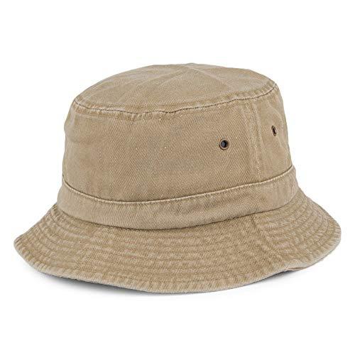 Village Hats Chapeau Bob en Coton Pliable Khaki L
