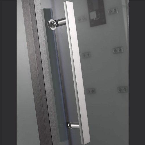 EAGO Dampfdusche DZ991F12 weiß/150×90/rechts - 5