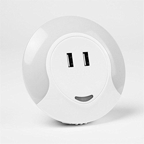 Mettime LED Veilleuse Dusk to Dawn Automatique avec Capteur de Lumière,Chambre d'Enfant/Toilette/Entrée/Escalier/Couloir/Passage, 0.7