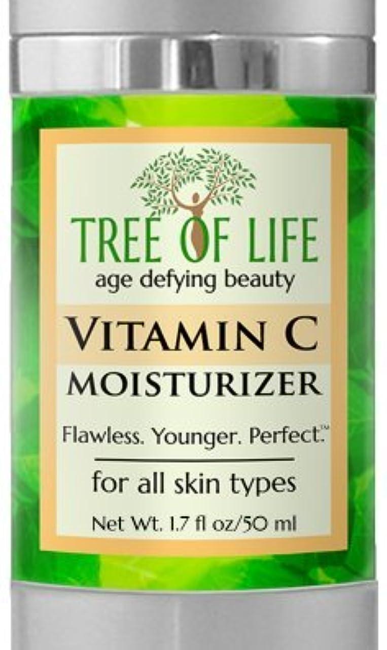 カエルフェローシップ専制Tree of Life Beauty ビタミン C モイスチャライザー クリーム 顔 肌 用