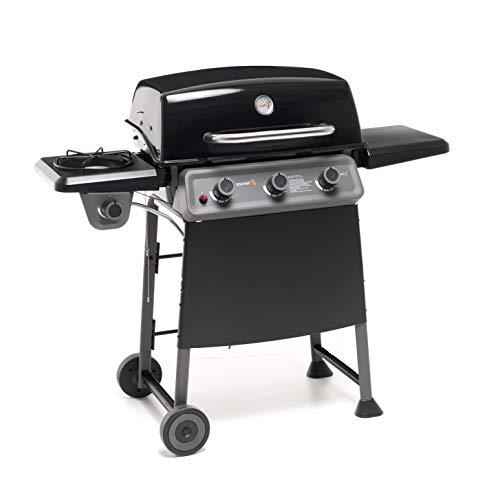 Sochef G32013 DiabloX Barbecue, Metodo di Cottura a Diffusione, Acciaio Verniciato, Nero/Grigio