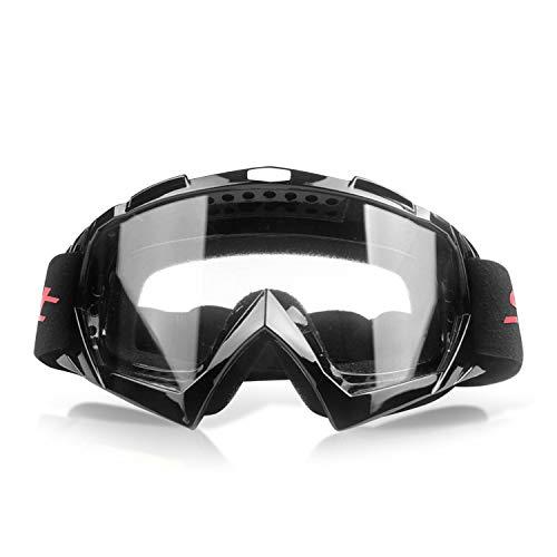 Galatée Motocross Vidrios a Prueba de Viento UV Goggle para Esquí, Patinaje,...