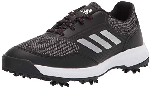 adidas womens Golf Shoe, Black/Silver/Grey, 10 US