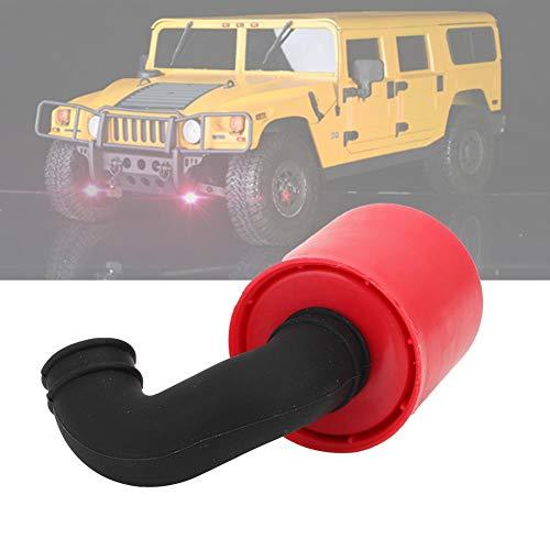 Dilwe RC Luftfilter, Modellauto Luftfilter RC Motor Luftfilter Reiniger Universal für 1/8 Öl Motor Auto( Schwarz)