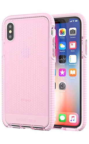 tech21 Evo Mesh Phone Case for Apple iPhone X and XS - Pink