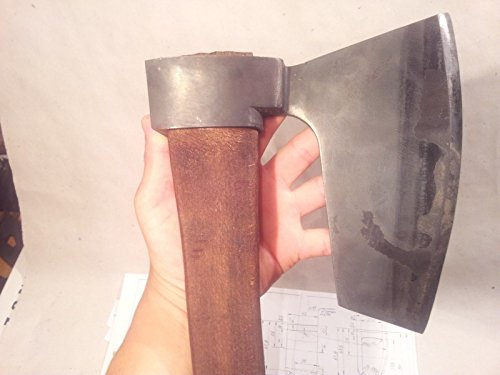 Mapsyst Extra Rare Hewing Goosewing Bearded Broad Axe - Viking Style