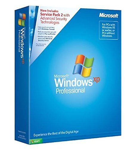 Microsoft Windows XP Professional Englisch inkl. SP2