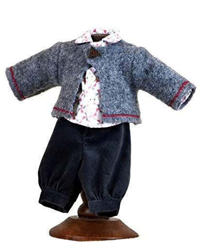 Käthe Kruse 25951 Puppen Kleidung für Däumlinchen 25 cm Modell Herbstwind