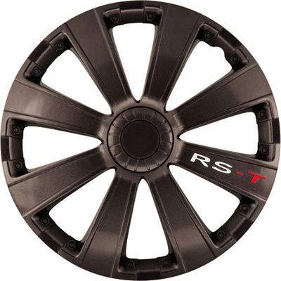 Best Auto Vest 14 inch Radzierblende Felgenblende Radkappe Radblenden Satz RS-T Dunkel Argo
