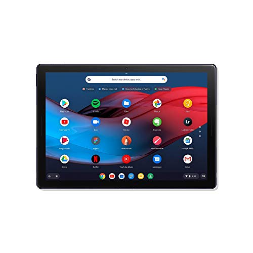 Google Pixel Slate Tablet with Google Assistant 8 GB RAM 64 GB Storage - Midnight Blue