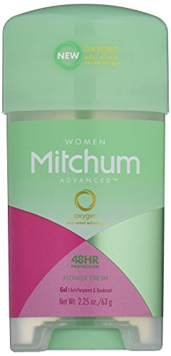 Mitchum Antiperspirant Deodorant Stick for Women, Triple Odor Defense Gel, 48 Hr Protection, Flower Fresh, 2.25 oz -  3091-15