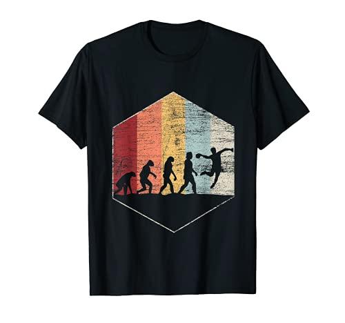 Handballspieler Geschenk Evolution Handball T-Shirt