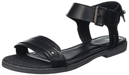 G-STAR RAW Damen D19594 Sandal, Black 8706-990, 38 EU
