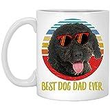 Funny Best Spanish Water Dog - Taza de café retro (325 ml)