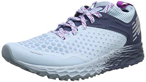 New Balance Fresh Foam Hierro v4, Zapatillas de Running Mujer, Azul (Air/Voltage Violet/Vintage Indigo A4), 38 EU