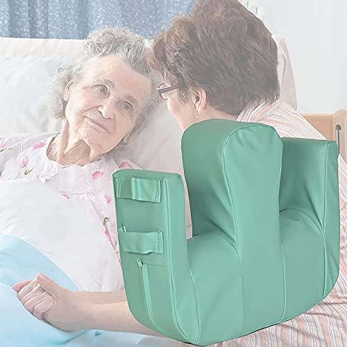 WANGXNCase Ayuda De Rotación para Personas Mayores, Almohadilla Giratoria Antiescaras Que Ahorra Trabajo, para Pacientes Paralizados Postrados En Cama/Herramienta De Cuidado Geriátrico, Verde
