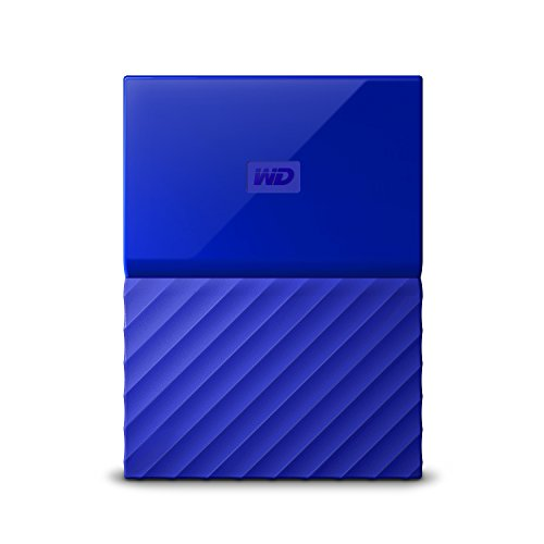 WD My Passport 2TB disco rigido portatile e software di backup automatico Nero